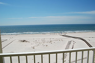View of Gulf from Condo
